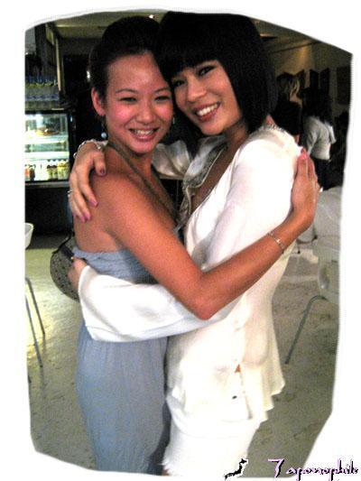 Xandria Ooi and Joyce Wong