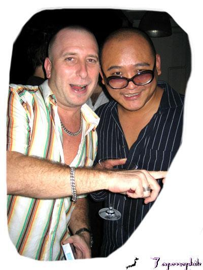 DJs Glenn and Funkie Junkie Donovan