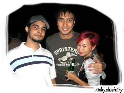Vinder Singh, Azwin Andy, Joyce Wong
