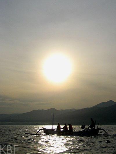 Sunrise at Lovina, Bali