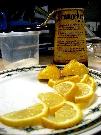 Lemon + sugar first! Not after.