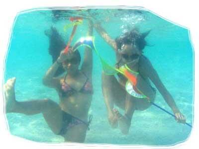 Underwater Antics!