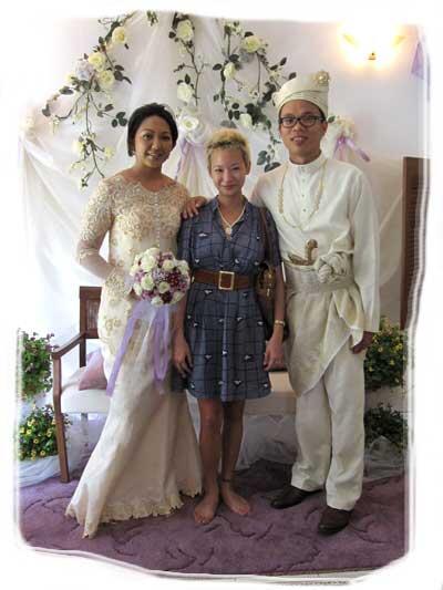 sherman and ida's wedding