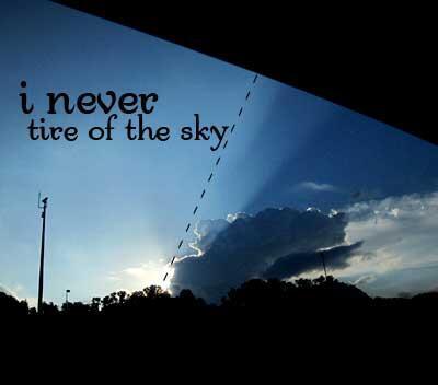 i <3 sky