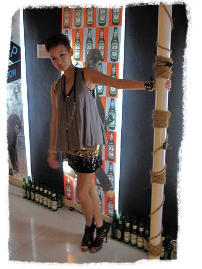 noT a pole dancer!