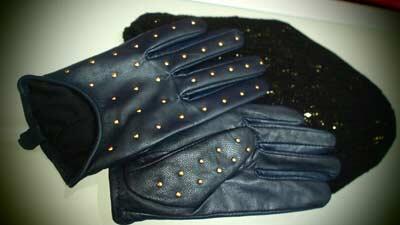 studded gloves topshop