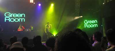Green Room KL Live