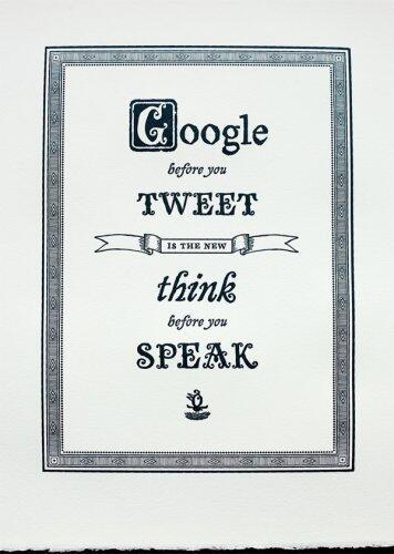 google before u tweet
