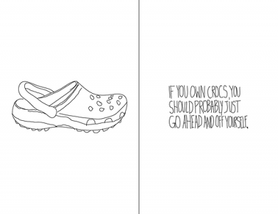 dedicated to all crocs lovers