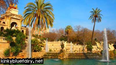 park, barcelona