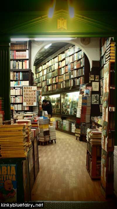 bookstore, barcelona