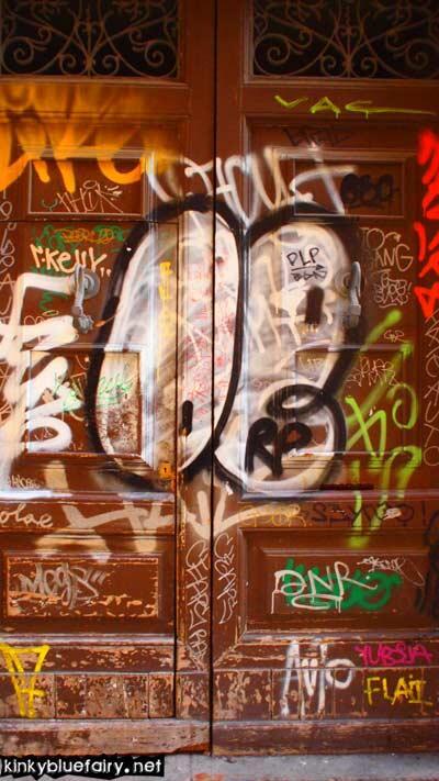 grafitti, barcelona
