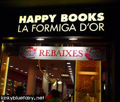 happy books, barcelona