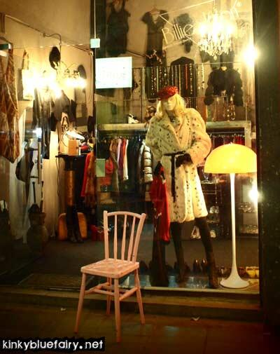 vintage shop, barcelona