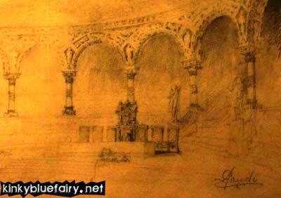 gaudi's sketches