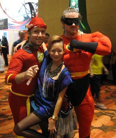 superheroes at Avalon