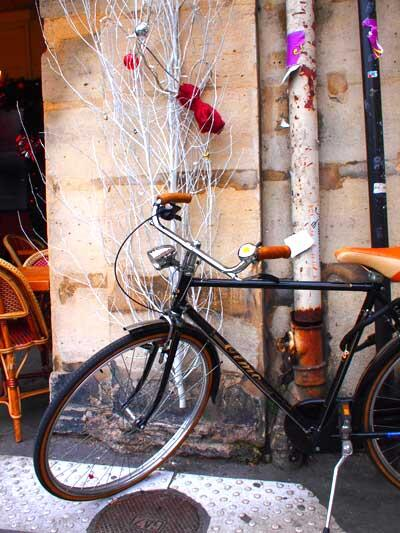 bicycle paris maree