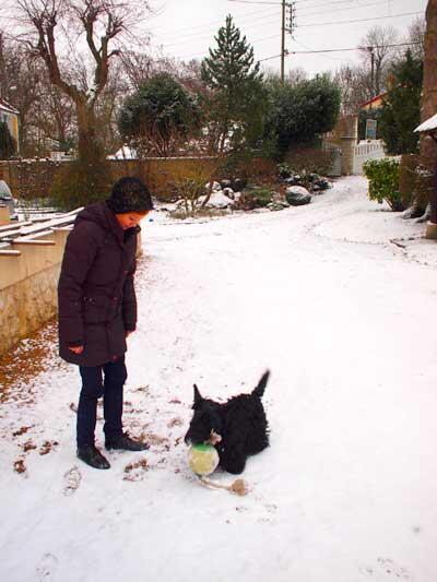 snow france 2010