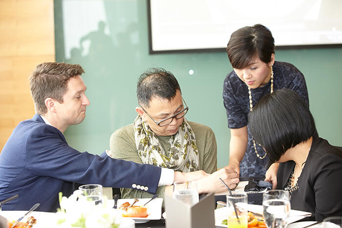 Montblanc-SEA-Managing-Director,-Mr.-Andreas-Boesch,-New-Straits-Times-contributor-Mr.-Cheong-Phin,-Montblanc-Marketing-Manager-Ms.-Irene-Soo-&-Malaysia-Tatler-Features-Editor,-Ms.-Lily-Ong