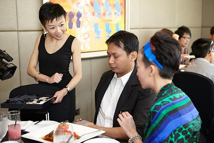 Montblanc-Senior-Public-Relations-Executive,-Ms.-Lim-Wee-Sien,-Focus-Malaysia-Writer,-Mr.-Aliff-Yusri-&-Blogger,-Ms.-Joyce-Wong