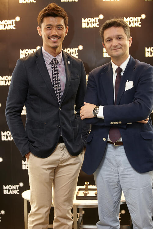 Mr.-Hansen-Lee-with-Montblanc-SEA-Managing-Director,-Mr.-Andreas-Boesch