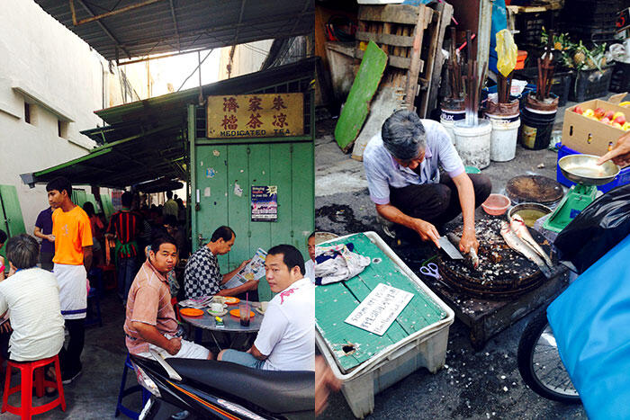 kinkybluefairy-penang-georgetown-market-breakfast