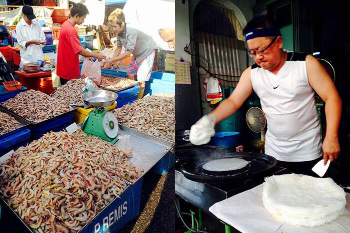 kinkybluefairy-penang-georgetown-wet-market-popiah