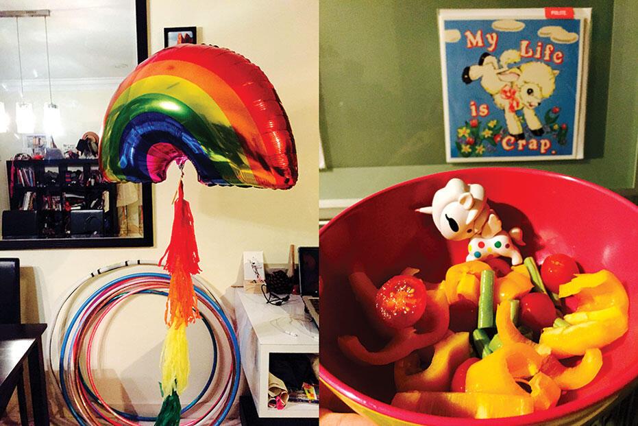 Joyce-birthday-2015-5-kinkybluefairy-rainbow-helium-balloon-tokidoki