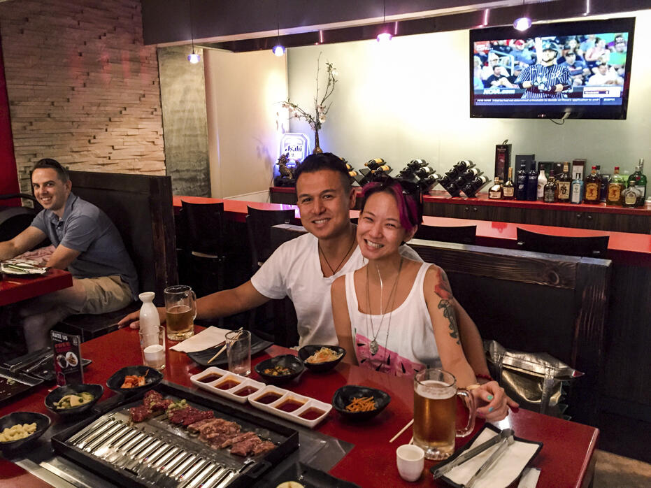 Las Vegas Korean BBQ Z and i