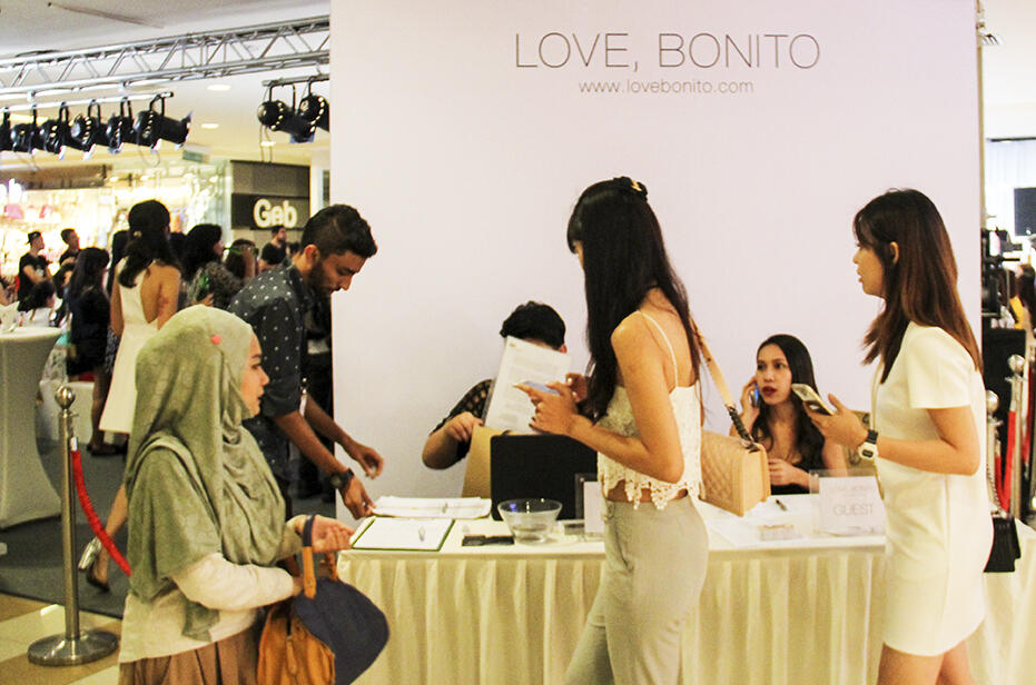 Love Bonito Mid Valley Store Launch Fashion Show 13