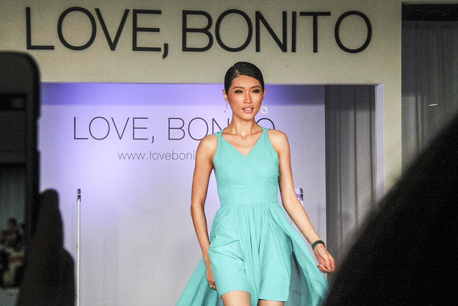 Love Bonito Mid Valley Store Launch Fashion Show 40 amber chia