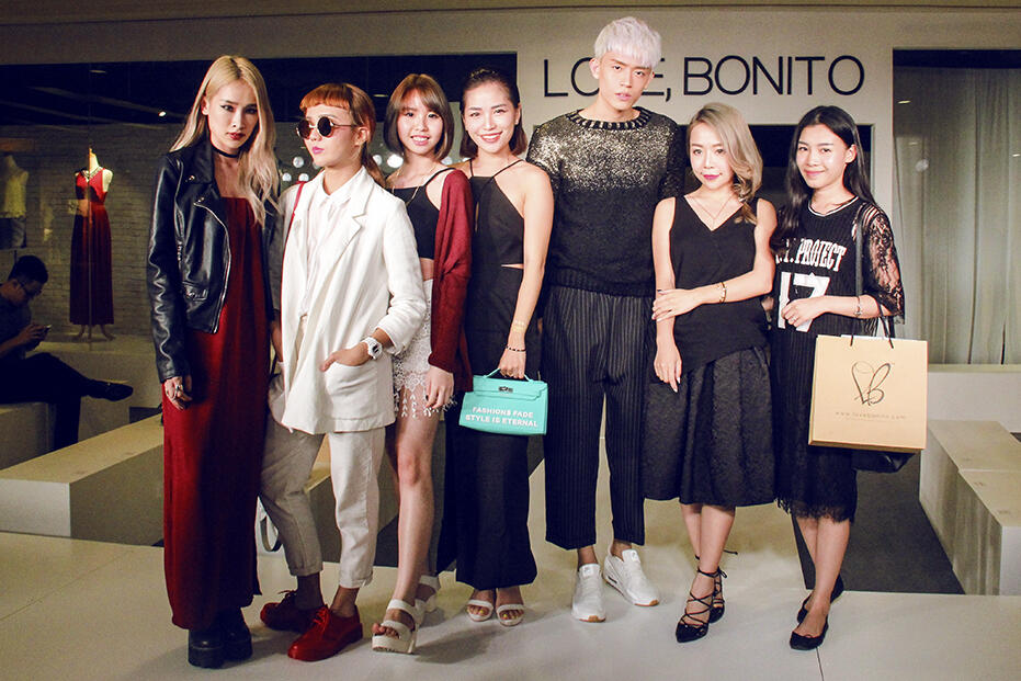 Love Bonito Mid Valley Store Launch Fashion Show 65 kittie yiyi brian see