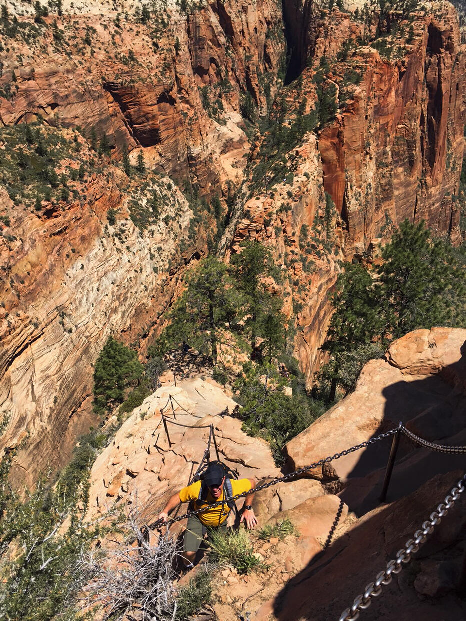 Zion National Park Angel's Landing-11