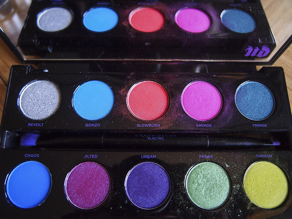 Make up Urban Decay Cosmetics Electric Pressed Pigment Palette