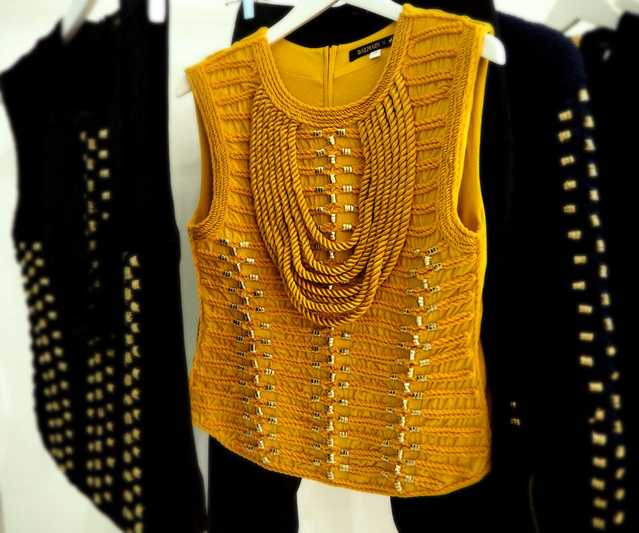 H&M X Balmain Preview