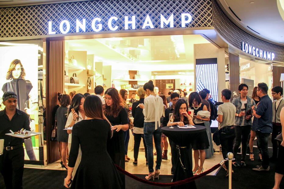 Longchamp Store Opening @ Gardens-34