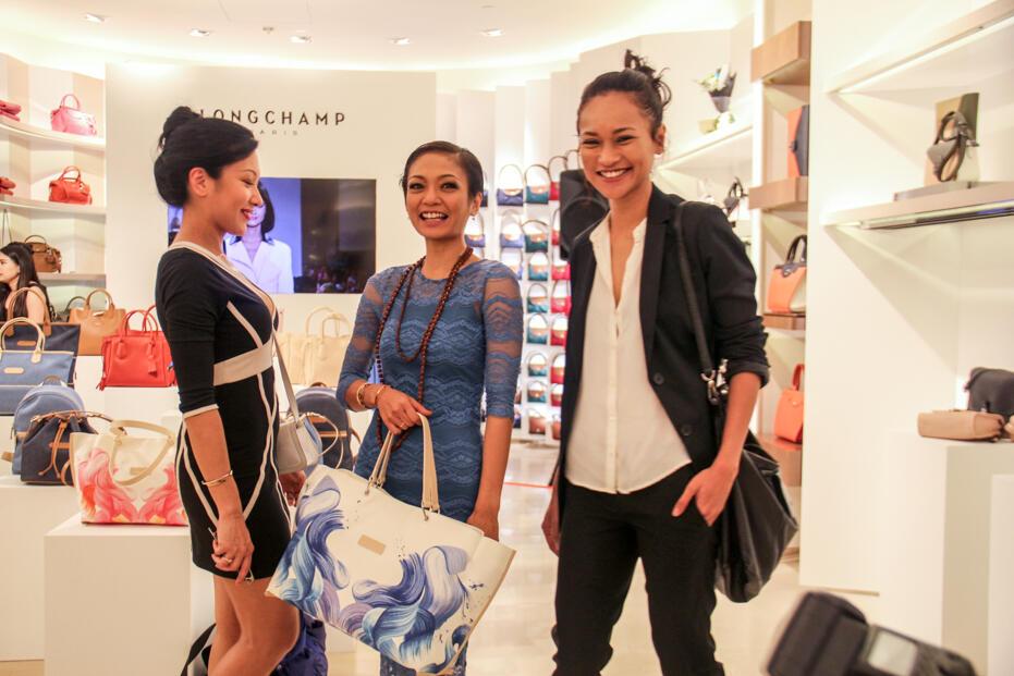 Longchamp Store Opening @ Gardens-38