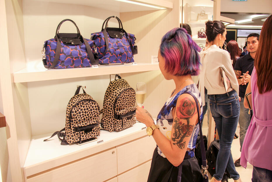 Longchamp Store Opening @ Gardens-39