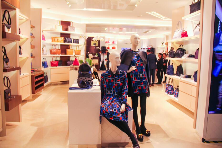 Longchamp Store Opening @ Gardens-5