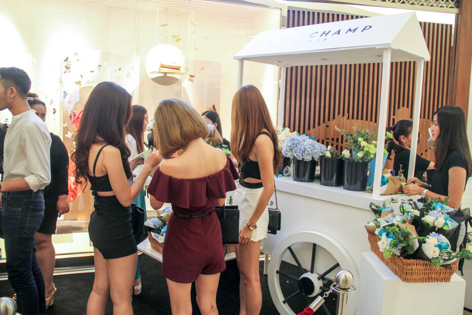 Longchamp Store Opening @ Gardens-69