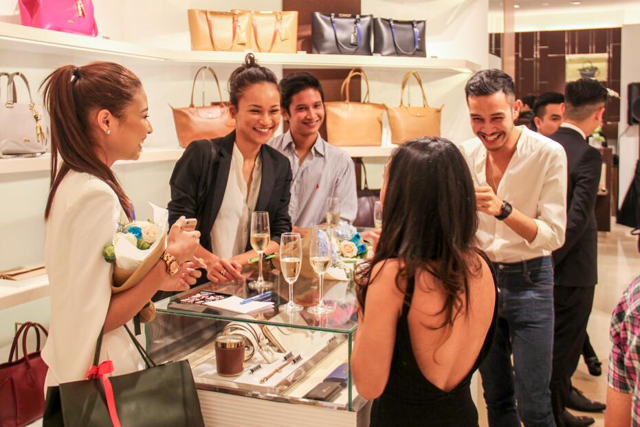 Longchamp Store Opening @ Gardens-78