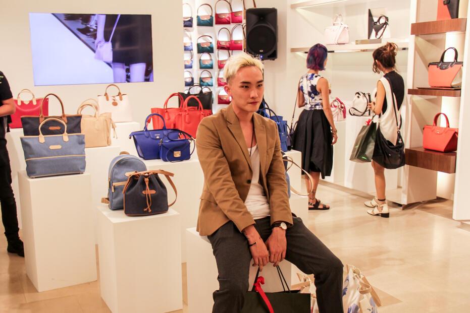 Longchamp Store Opening @ Gardens-83