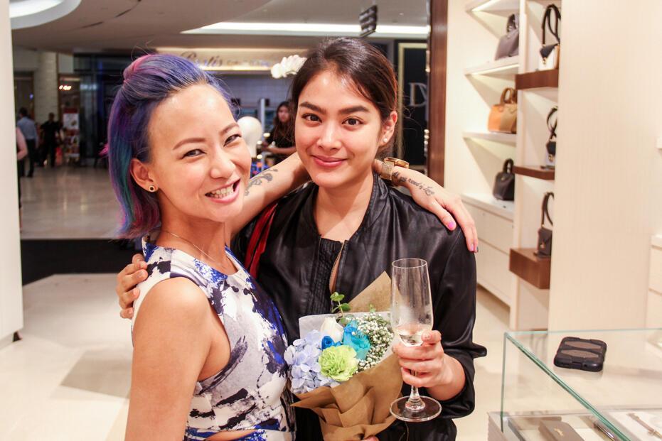 Longchamp Store Opening @ Gardens-90