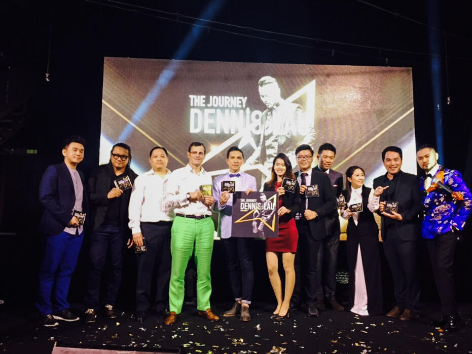 Christmas 2015-10 Dennis Lau The Journey album launch 2
