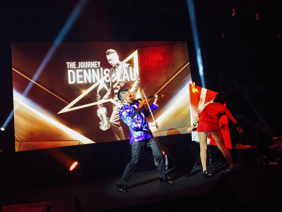 Christmas 2015-2 Dennis Lau The Journey album launch