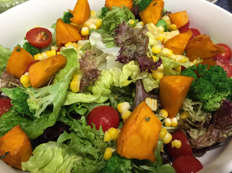 March & April Pictures for Blog-12 salad