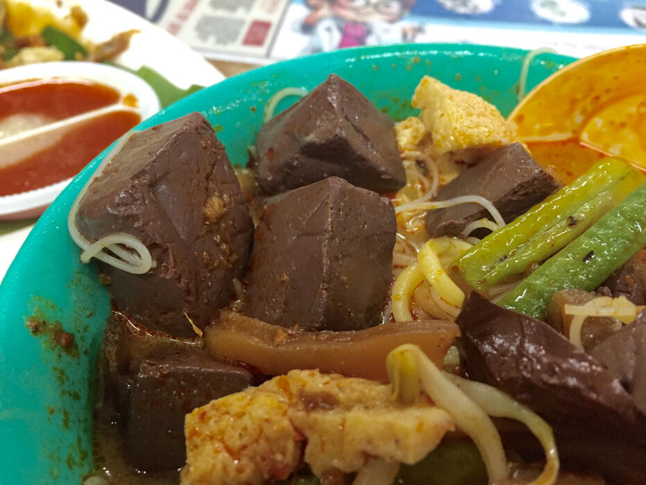 Penang June 2016- food and wedding penang curry noodle-3