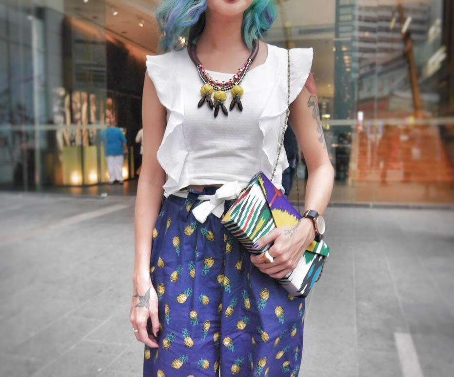 KL Fashion Week KLFW RTW 2016 Day 1 - 22 joyce wong in my apparel zoo by ellie norman