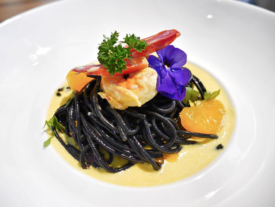 Tiki-Taka-KL-Malaysia-10---tapas-Saffron-&-Squid-Ink-Pasta