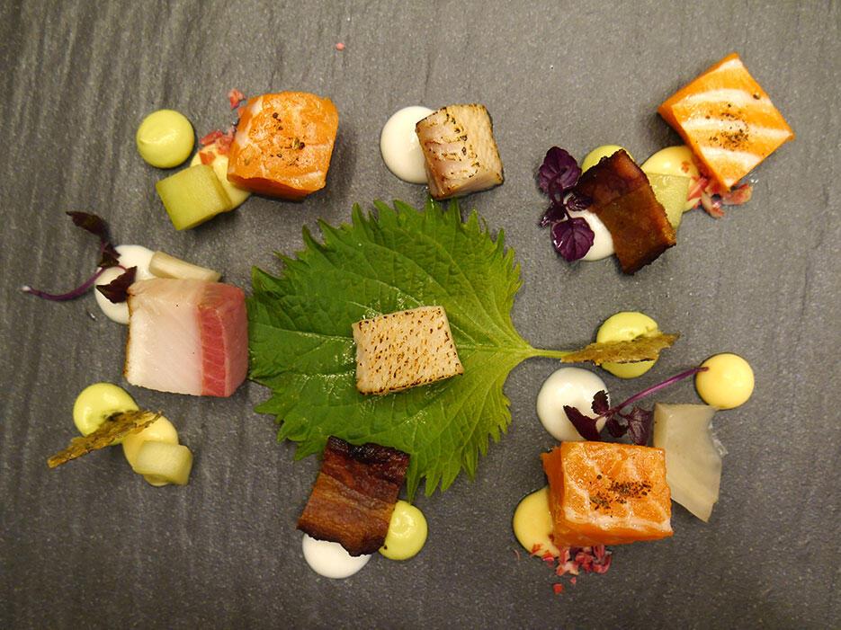 casa-fairy-mr-b-dinner-jun-chan_4-tuna-salmon